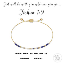 Load image into Gallery viewer, Morse Code Bracelet - Faith