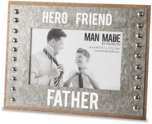 Hero, Friend, Father Picture Frame