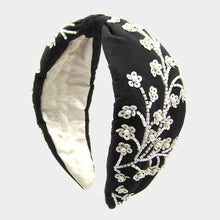 Load image into Gallery viewer, Floral Sequin Fashion Headband
