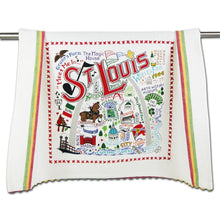 Load image into Gallery viewer, St. Louis Landmark Dish Towel