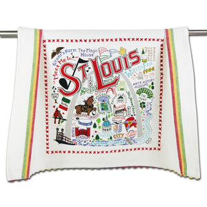St. Louis Landmark Dish Towel