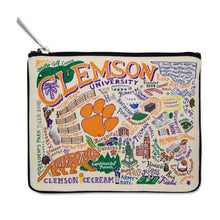Load image into Gallery viewer, Collegiate Landmark Pouch - Clemson University