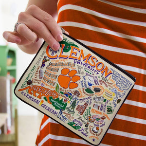 Collegiate Landmark Pouch - Clemson University