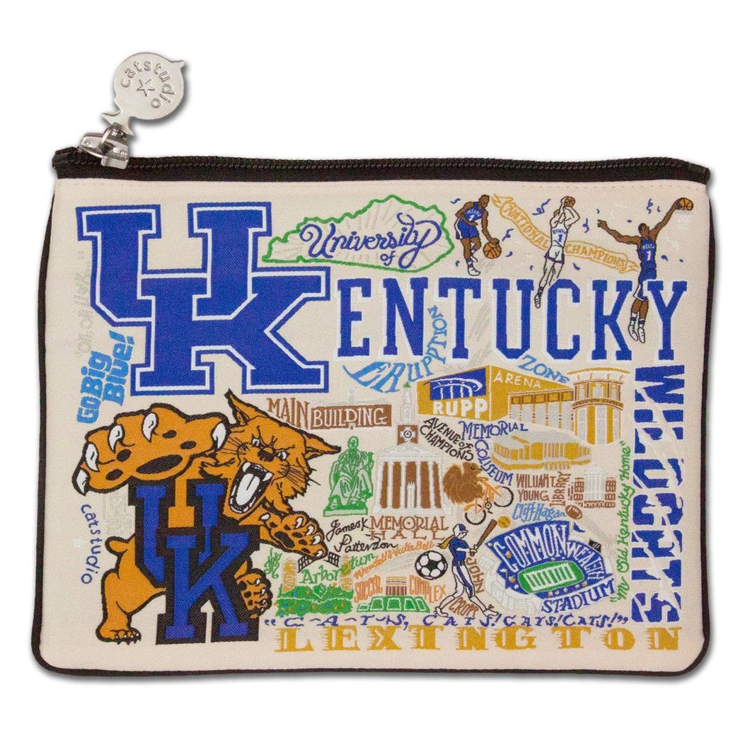 Collegiate Landmark Pouch - University of Kentucky