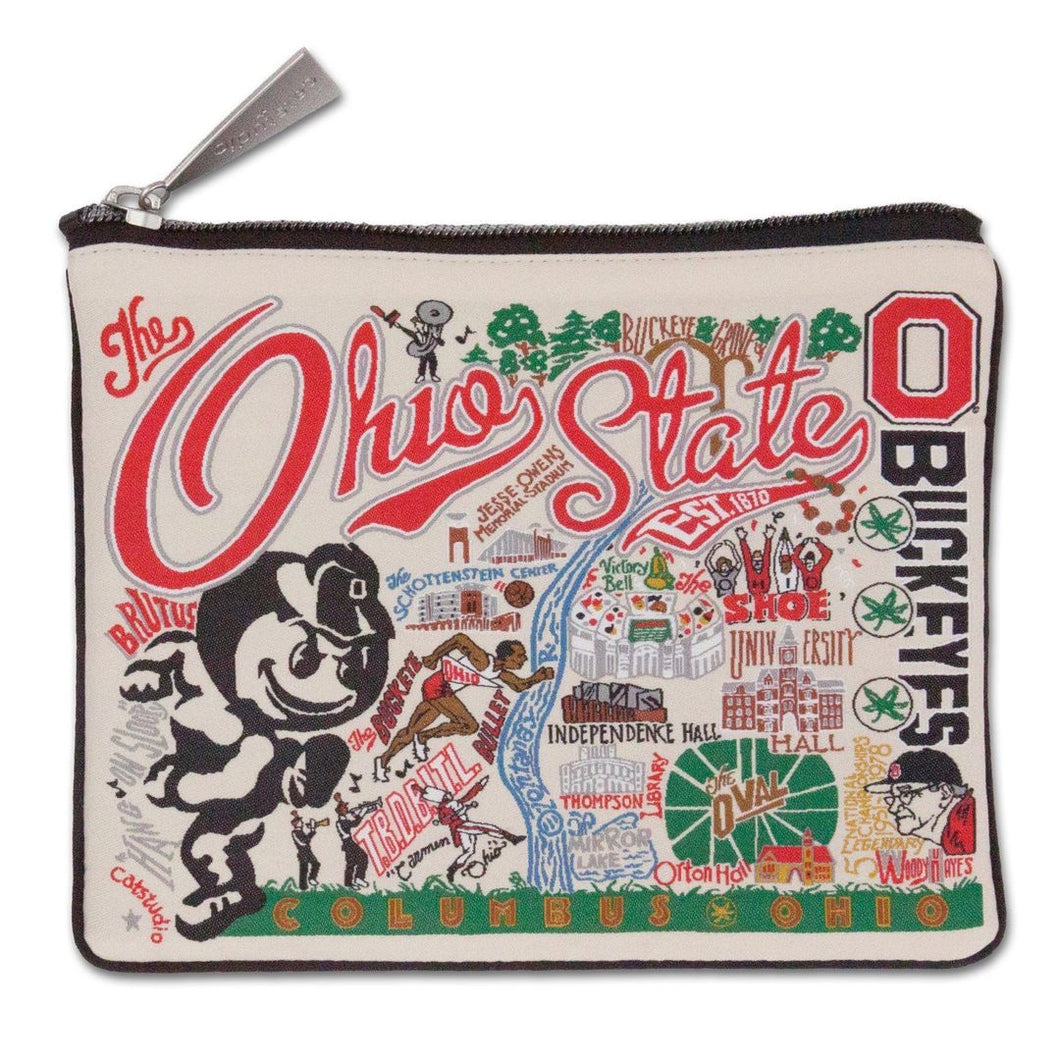 Collegiate Landmark Pouch - The Ohio State University
