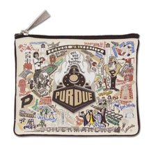 Load image into Gallery viewer, Collegiate Landmark Pouch - Purdue University