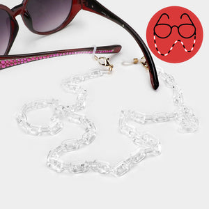Face Mask/Eyeglass Chain - Resin