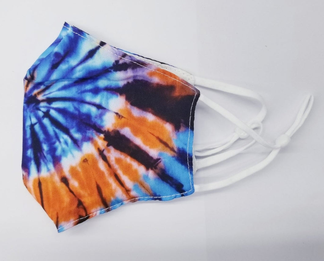Adult Cotton Tie Dye Mask