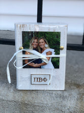 Load image into Gallery viewer, Sorority Wood Block Frame