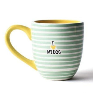 Ceramic Mug - I Love My Dog