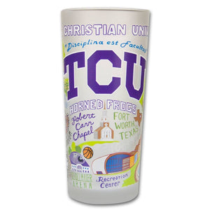 Collegiate Frosted Glass