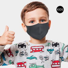Load image into Gallery viewer, 3-D Kids Fashion Face Mask - Solid