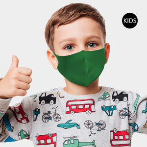 3-D Kids Fashion Face Mask - Solid