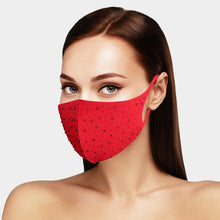 Load image into Gallery viewer, Fashion Face Mask w/Bling