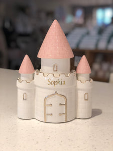 Personalized Castle Bank