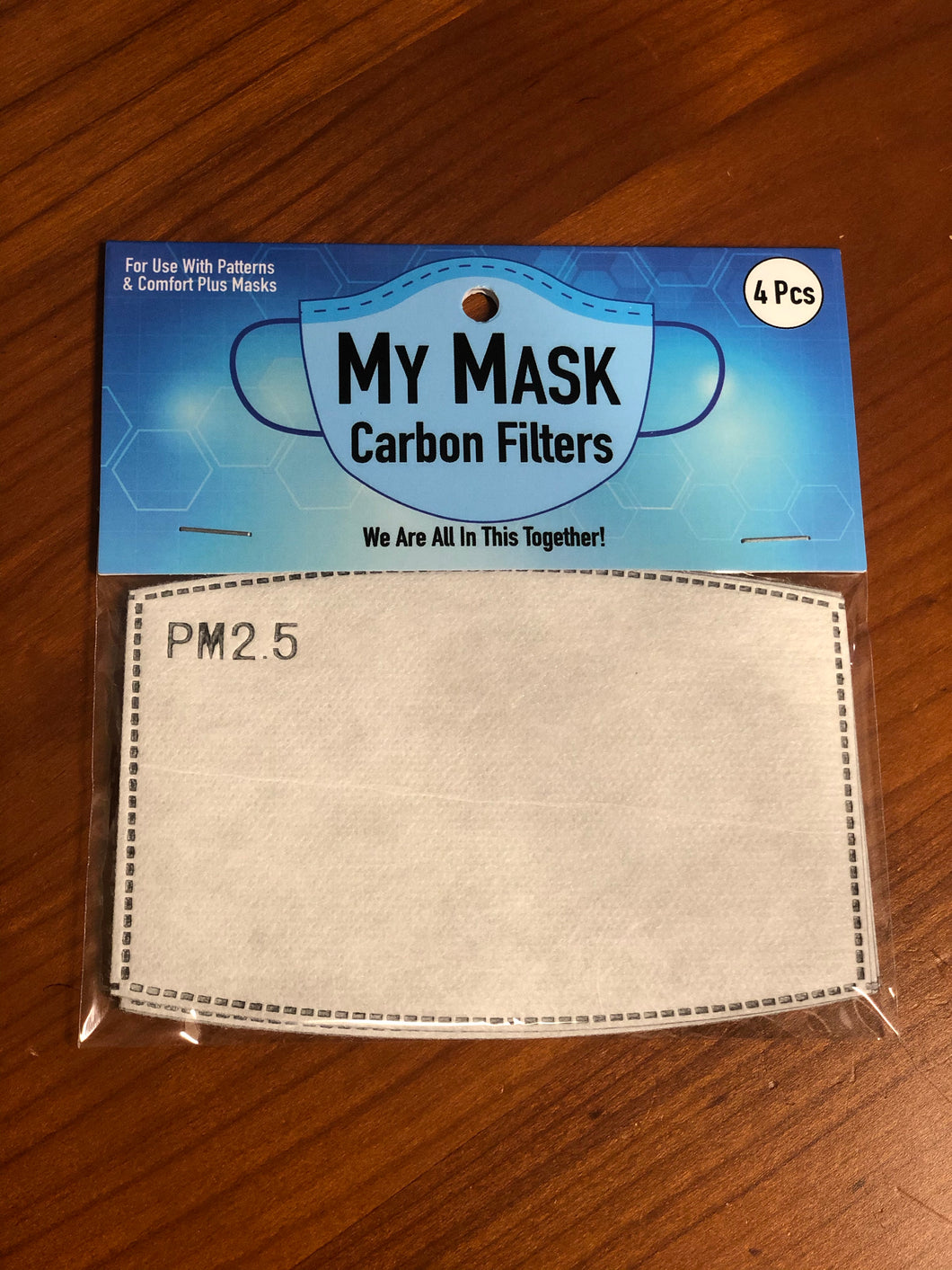 Carbon Mask Filter - Set/4