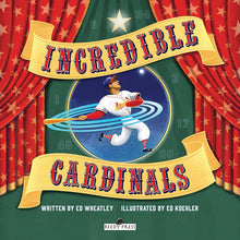 "Load image into Gallery viewer, ""Incredible Cardinals"" Hardcover Book"