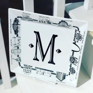 Personalized St. Louis Platter - Square