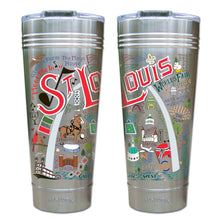 Load image into Gallery viewer, St. Louis Landmark Thermal Tumbler