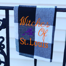 Load image into Gallery viewer, Witches of St. Louis Dish Towel