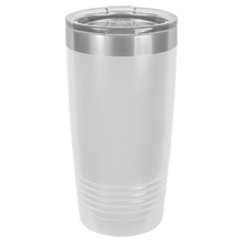 Load image into Gallery viewer, Personalized Ringneck Tumbler w/Lid - 20oz.
