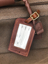 Load image into Gallery viewer, Needlepoint Luggage Tag - Blues