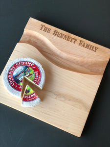 Personalized Cheese Board w/Groove
