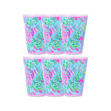 Load image into Gallery viewer, Lilly Pulitzer Pool Cups Set/6
