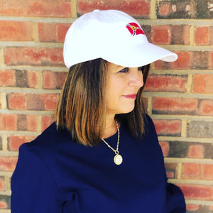 Needlepoint Cap - St. Louis Flag