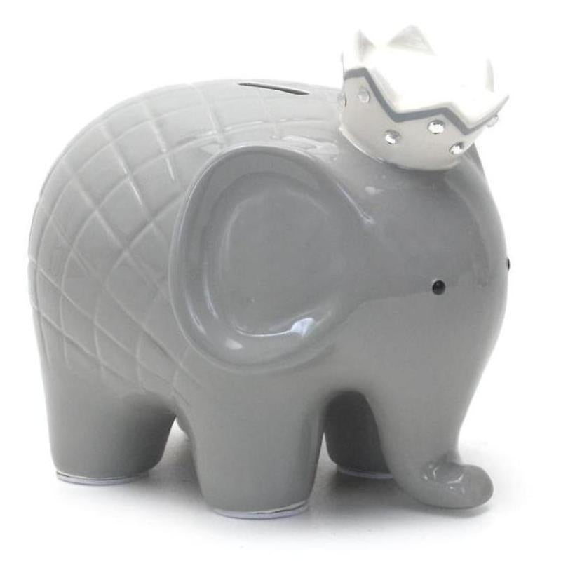 Personalized Royal Elephant Bank