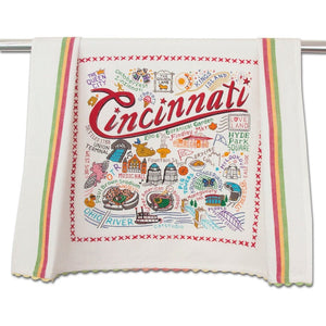 Dish Towel - Cities