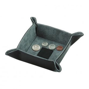 "Leather Snap Tray - 4.5"" Square"