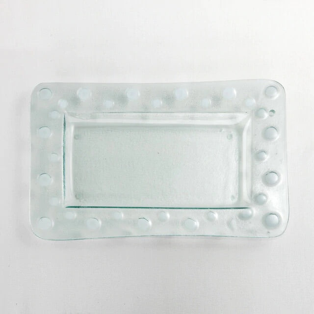 Clear Pop In Platter - Rectangle