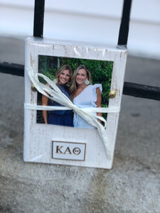 Sorority Wood Block Frame