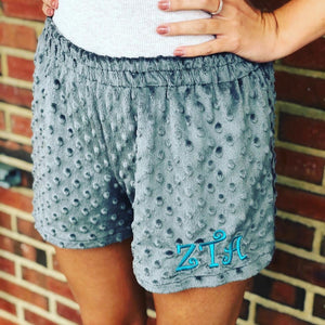 Personalized Minky Short