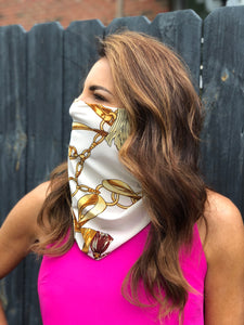 Scarf Mask w/Ear Loops