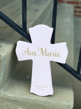 Load image into Gallery viewer, Personalized Wooden Cross