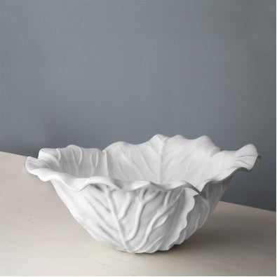 Beatriz Ball White Vida Lettuce Bowl - Large