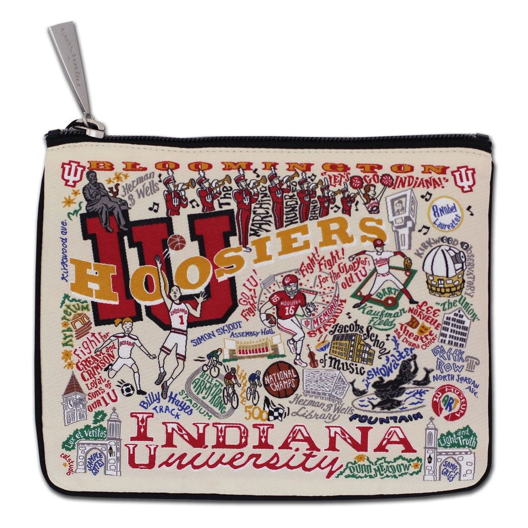 Collegiate Landmark Pouch - Indiana University