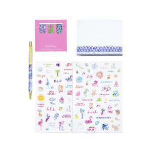 Lilly Pulitzer Agenda Accessory Pack
