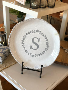Personalized Large Shallow Melamine Bowl