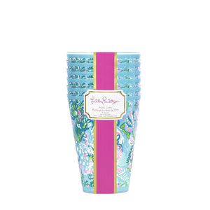 Lilly Pulitzer Pool Cups Set/6