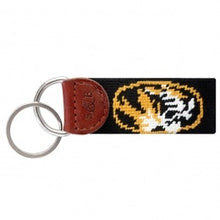 Load image into Gallery viewer, Needlepoint Key FOB - Collegiate