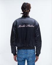 Load image into Gallery viewer, SATIN JACKET BLACK