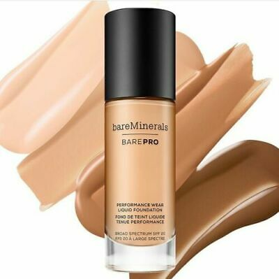 bareMinerals BAREPRO™ PERFORMANCE WEAR LIQUID FOUNDATION SPF 20 24-Hour Full Coverage Foundation