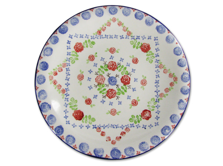 "Med Hanging Coupe Plate 10"" - The Artsy Soul"