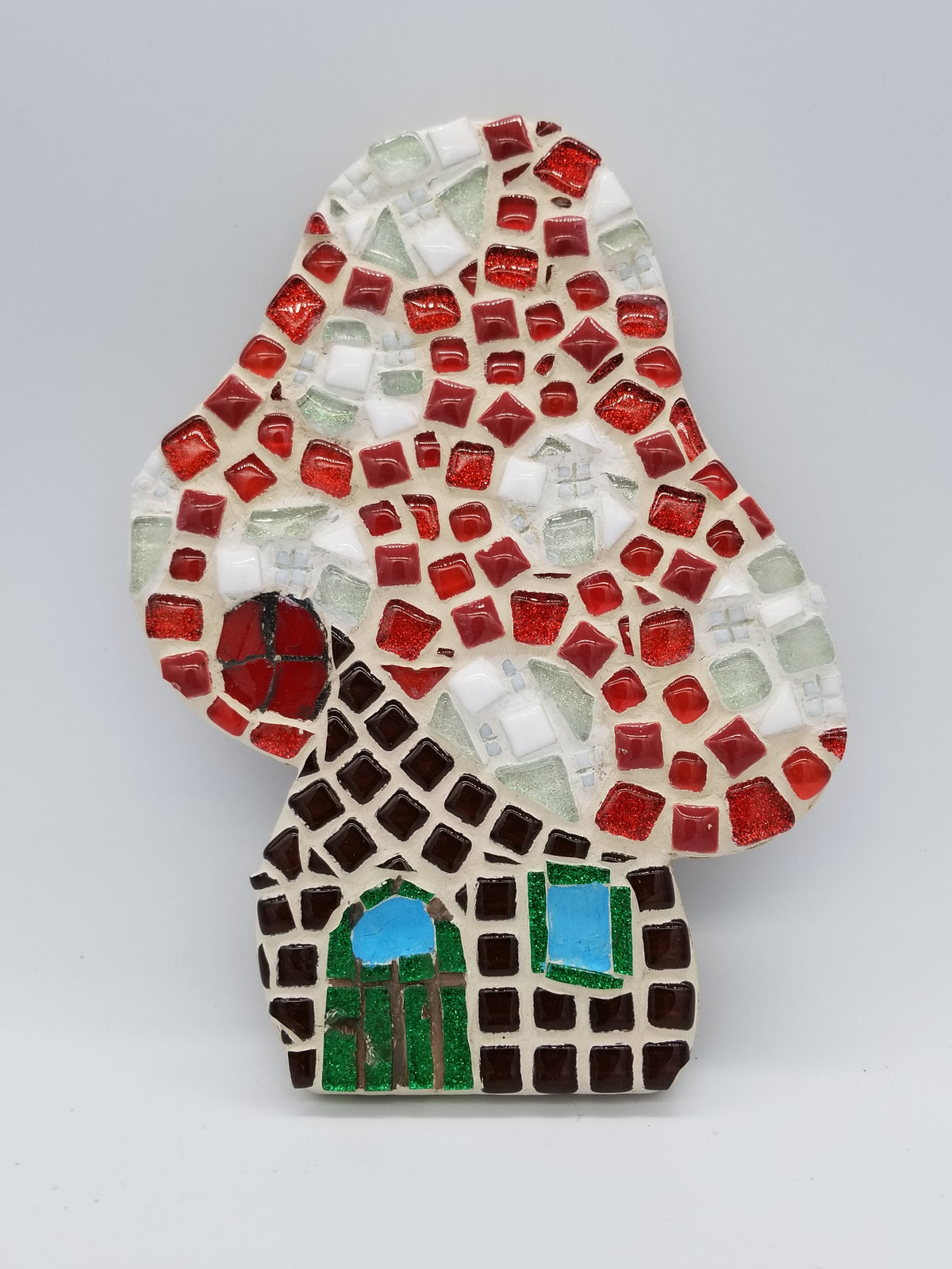 Mushroom Fairy House Plaque 8 in. - The Artsy Soul