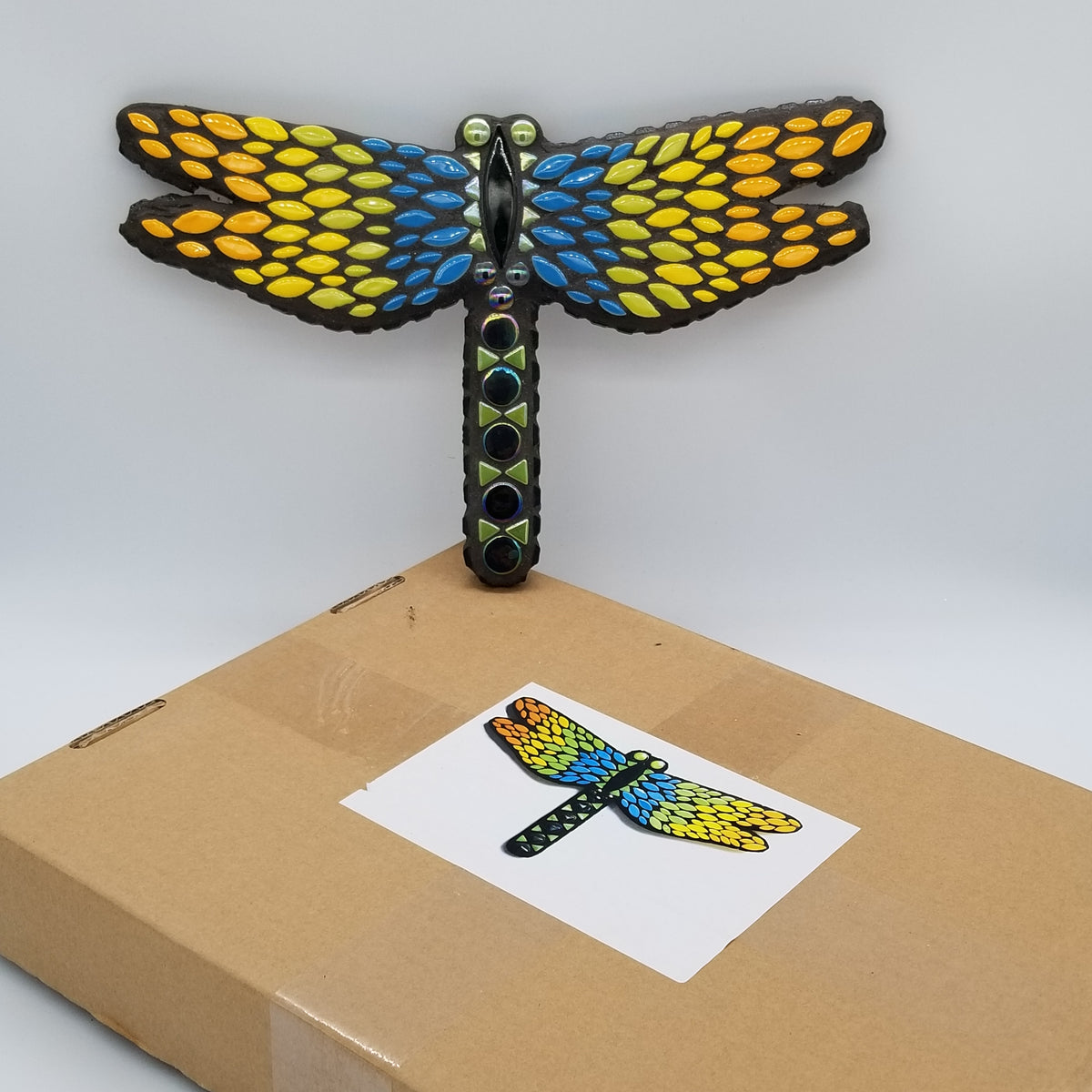 "Dragonfly 8"" DIY Kit - The Artsy Soul"