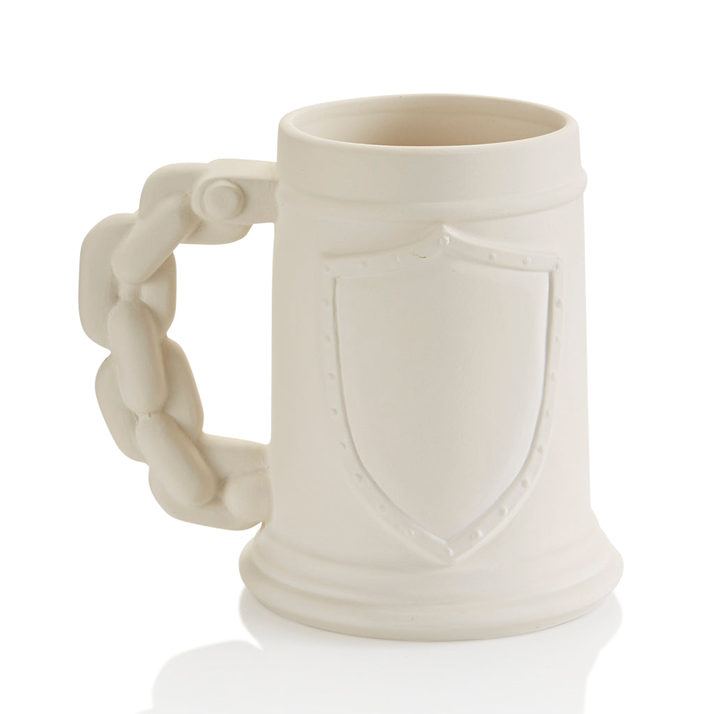 Shield Stein Mug - The Artsy Soul