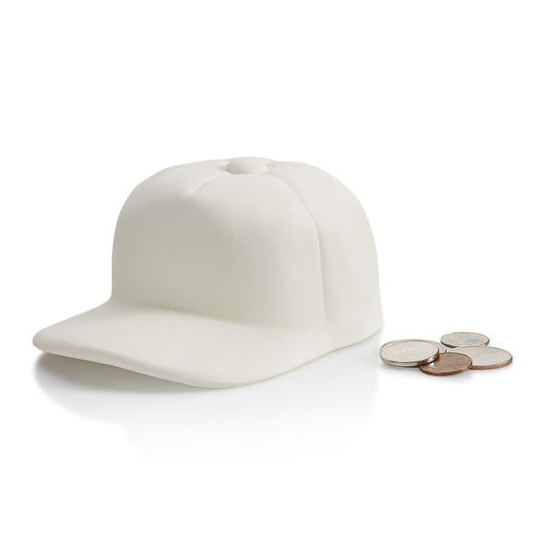 BASEBALL CAP BANK W/STOPPER - The Artsy Soul